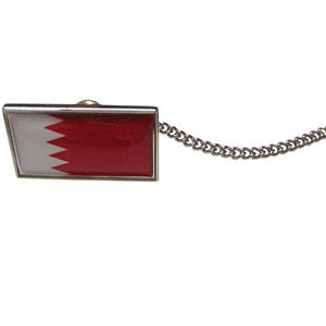 Bahrain Flag Tie Tack
